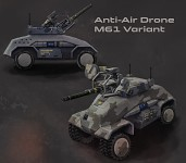 M61 air defense drone
