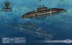 Kilo submarine