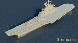Kiev class attack carrier (WIP)