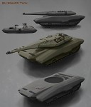 Stealth tank concept