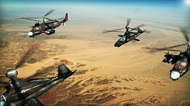 Russian helis over Libya