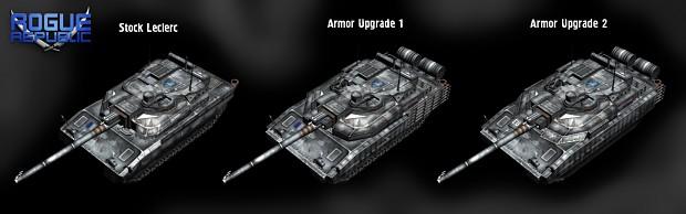 Leclerc armor upgrades