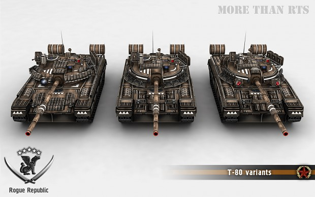 T-80 variants