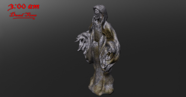 First Statue for the Graveyard.