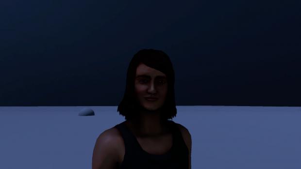 Night lighting rendering test