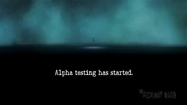 Alpha Testing.
