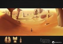 Desert concept art