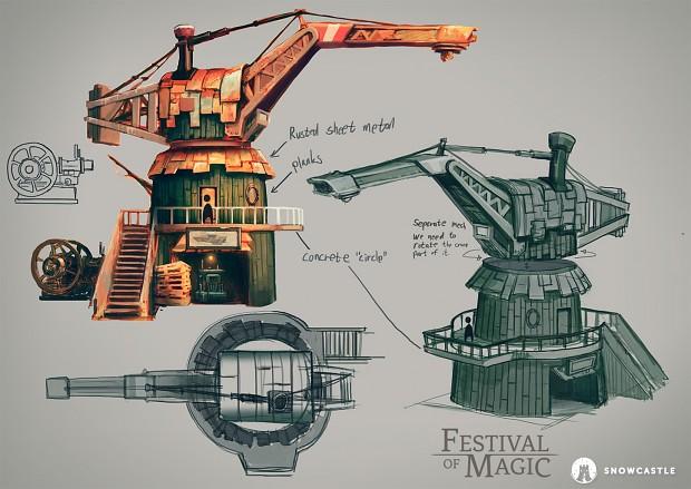 Dockyard concept art