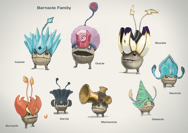 Barnacle Concept Art