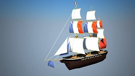 Ship of Indie Pirates 3D!