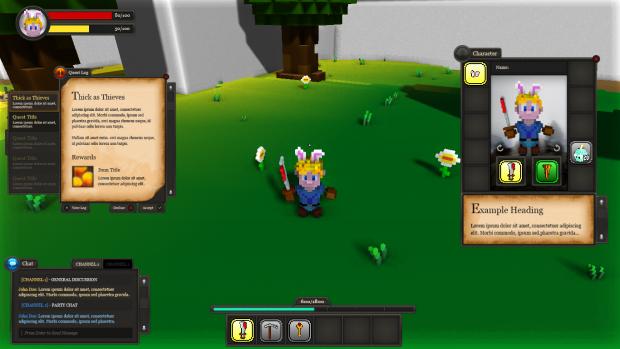 New GUI prototype