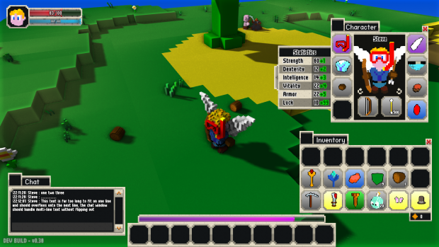 More GUI and HUD graphical improvements.