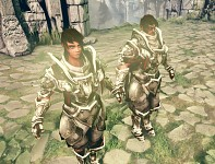 Female and Male Knight