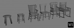 Props III - Chairs