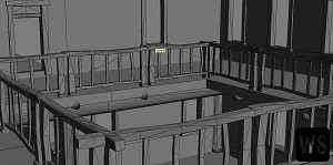 Saloon Prototype II - Interior