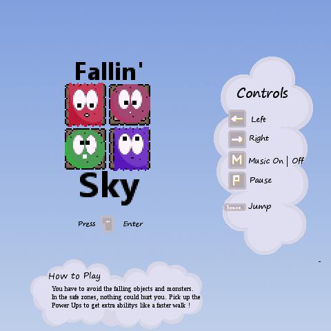 Fallin' Sky Gameplay