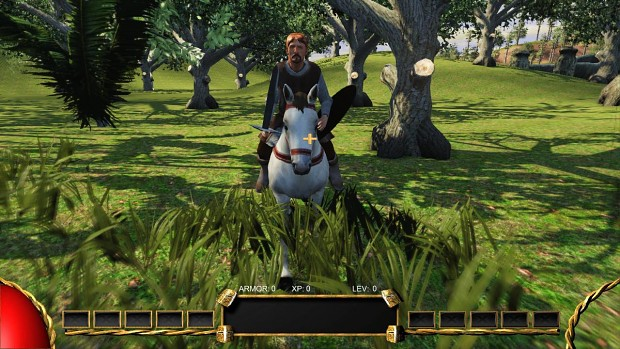 Fortis Rex Melee Horse Combat
