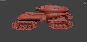 Soviet experimental AT vehicle render 3