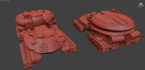 Soviet experimental AT vehicle render 5
