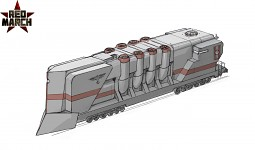 3rd faction armoured train colored concept art