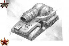 Soviet self-propelled laser system