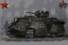 Soviet Heavy APC concept art