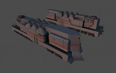 3rd faction armoured train render 5