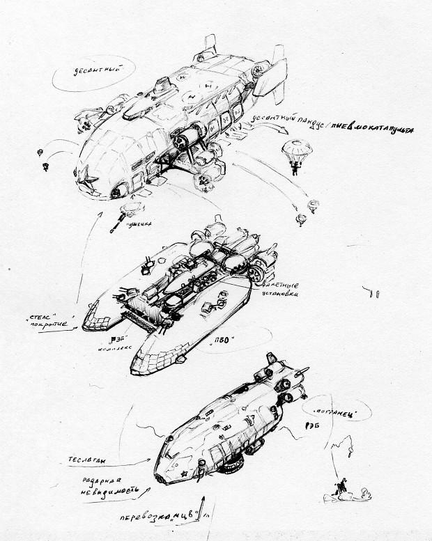 Pact Airships 1