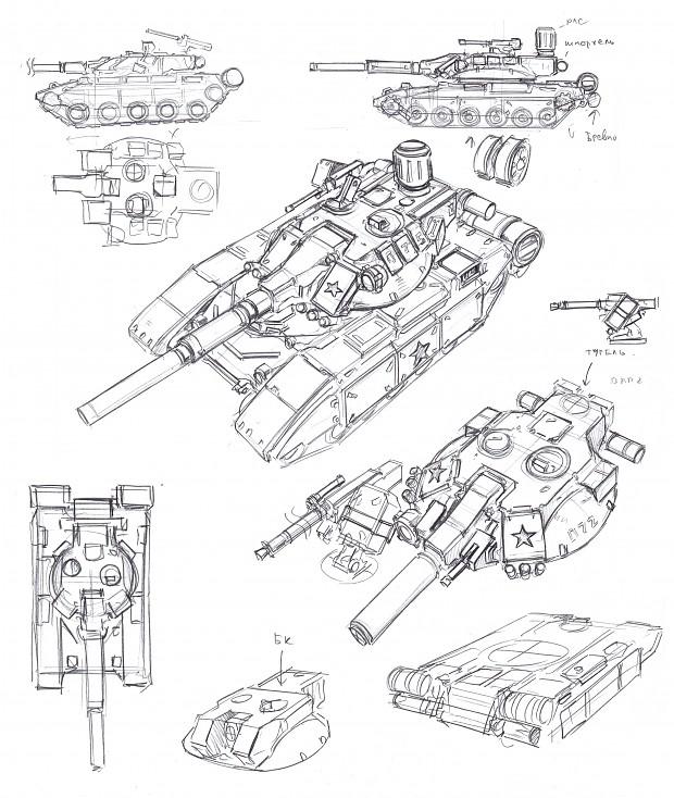 Soviet tank design research