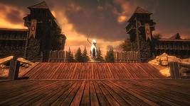 Livingstone At Sunset
