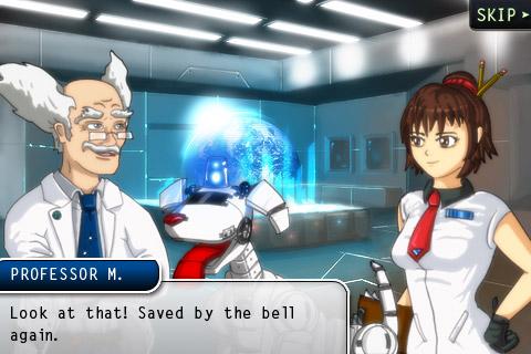 A cutscene