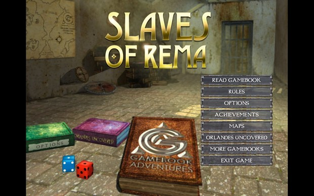 Gamebook Adventures 3: Slaves of Rema