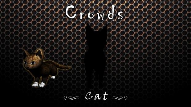 Crowds - Animals : Cat