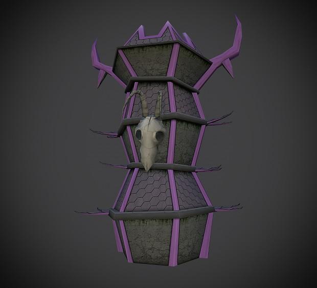 Demon tower model