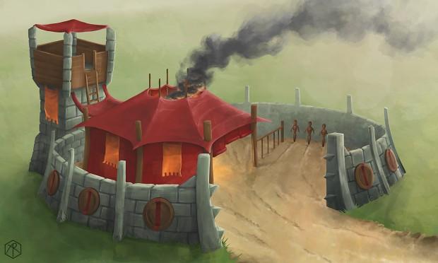 Orc barracks
