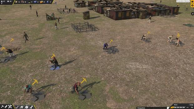 Early screenshots