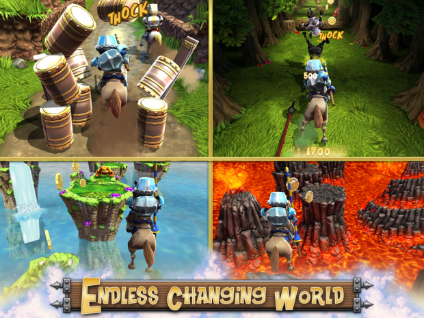 "iOS ""Endless changing world"" Screen"