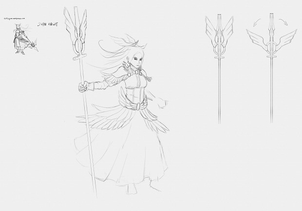 Swan Knight Concept