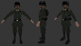 Axis Infantry Playermodel