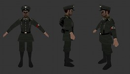 Axis Officer Playermodel