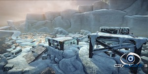 Ice environement recon arcade