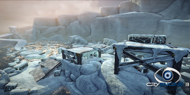 Ice environement recon arcade