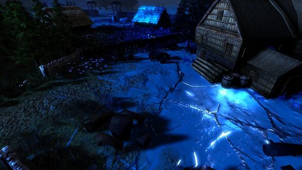 Frozen Hearth WIP Screenshots/Artworks