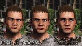 Facial animation stills