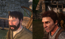 Warband vs (WiP) Bannerlord head