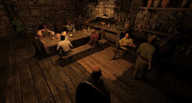 In-game Tavern