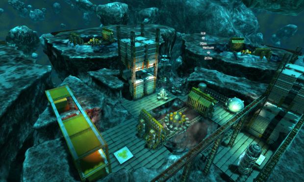 Miner Wars 2.5D Experiment