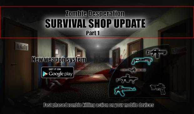 Survival Shop update Part 1