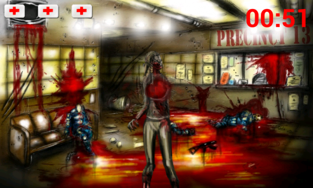 Carnage Frontier: Desperation Screenshot