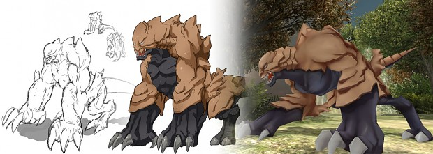 Behemoth Concept to 3D